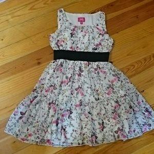 Pinky kids dress